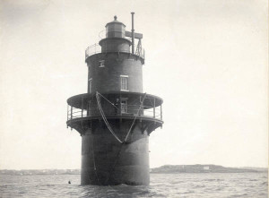 The lighthouse in 1897.